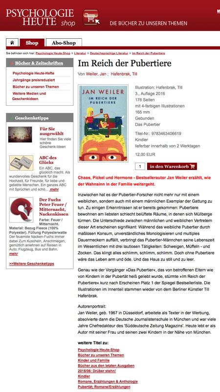 Psychologie Heute | Buchsuite.de